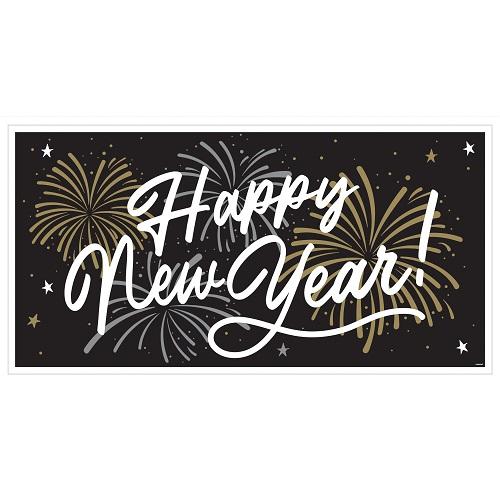 Banner Happy new Year 165x85cm
