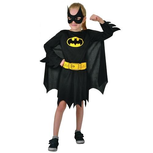 Batgirl jurkje kind 10-12 jaar