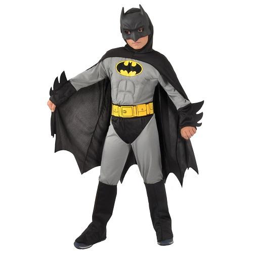 Batman kostuum kind grijs 8-10 jaar