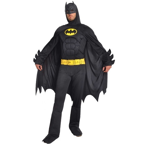 Batman kostuum muscle chest volwassen – Extra Large