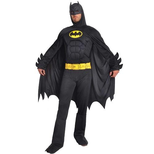 Batman kostuum muscle chest volwassen - Large