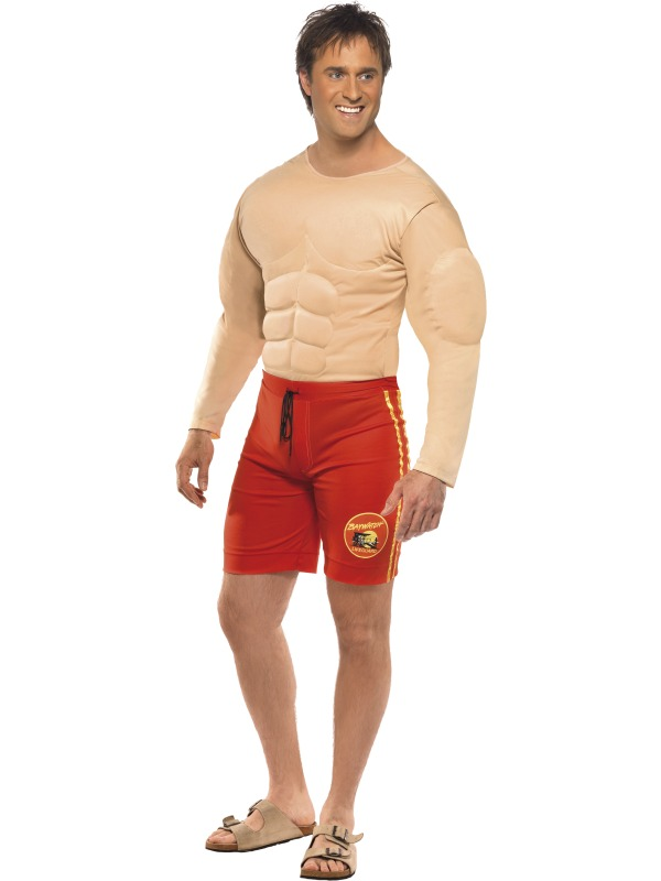 Baywatch lifeguard kostuum - Large