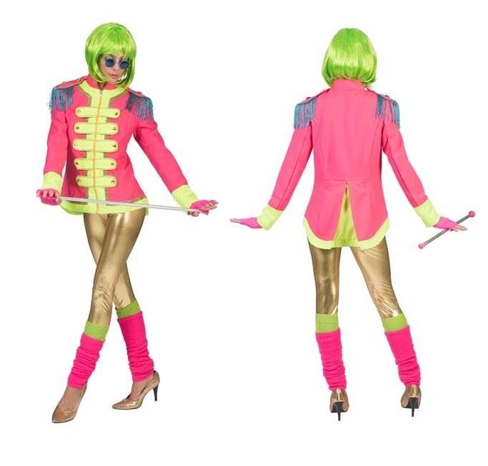 Beatles jasje roze dames