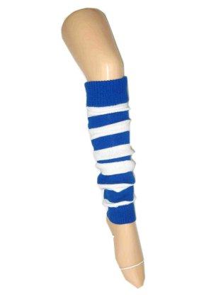 Beenwarmers blauw wit