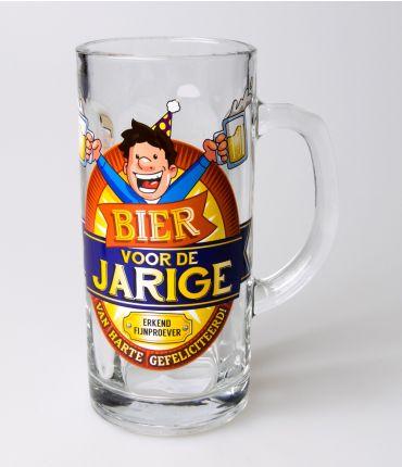 Bierpul voor de jarige