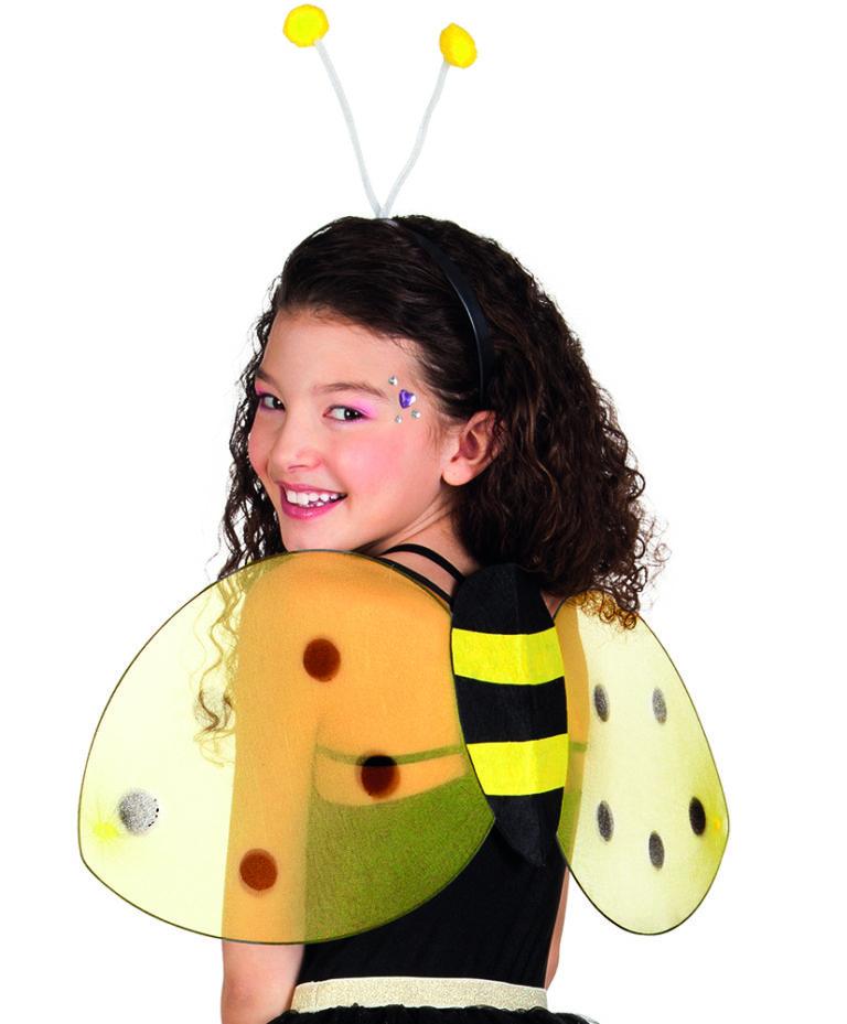 Bijen vleugels en diadeem