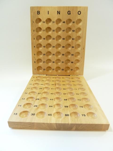 Bingo controlebord 1/75