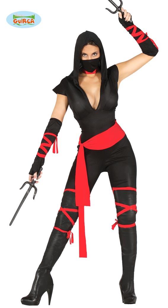 Black Ninja kostuum xss