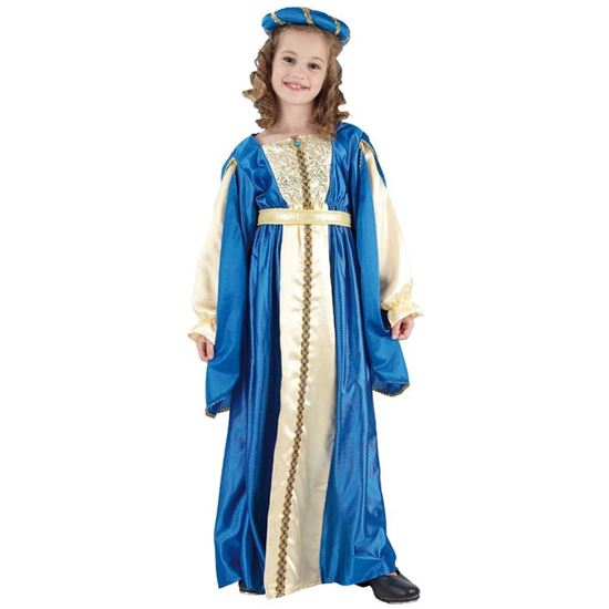 Blauwe prinses 7-9 jaar