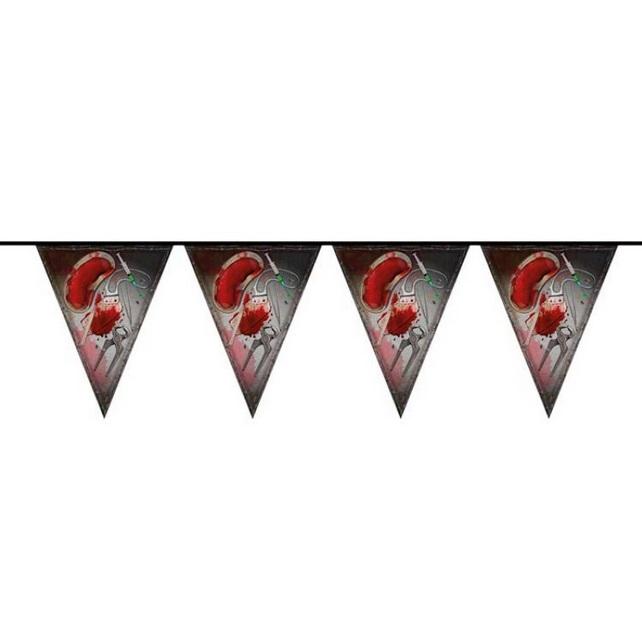 Bloody Halloween vlaggenlijn