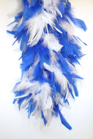 Boa brandveilig dik wit/blauw