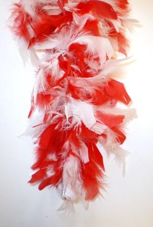 Boa brandveilig dik wit/rood