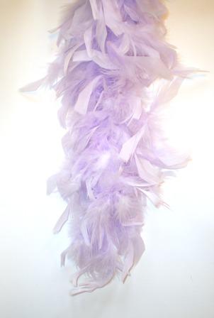 Boa lila 180 cm