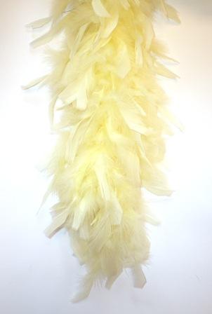 Boa pastel geel 180 cm