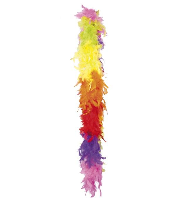 Boa Regenboog kleuren 180 cm