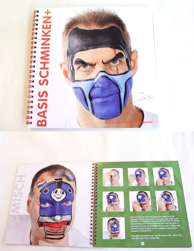Boek basis schminken+