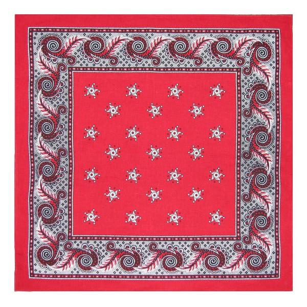 Boerenzakdoek rood 60x60