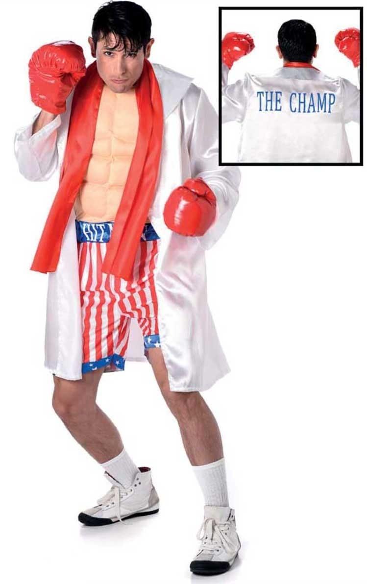 Bokser kostuum Champion Boxer - Extra Large