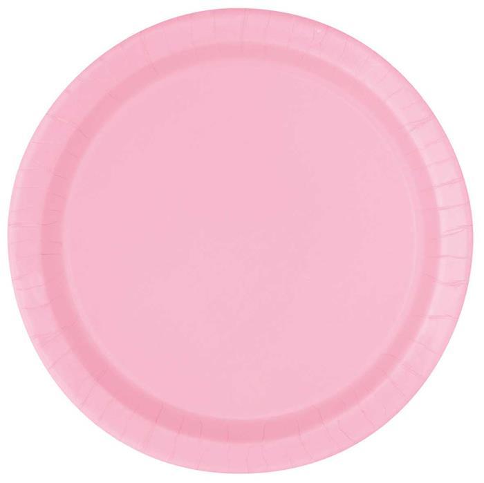 Bordjes licht roze 16st