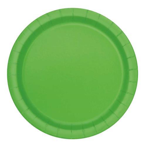 Bordjes lime green 16st
