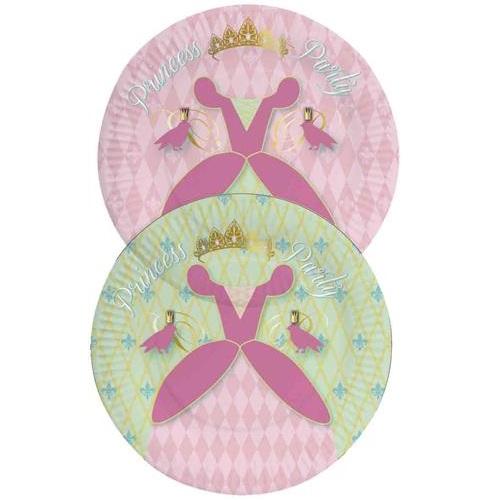 Bordjes Princess 8 stuks