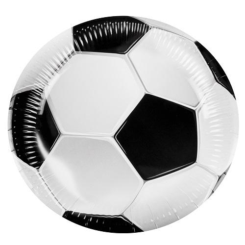 Bordjes voetbal 6 stuks