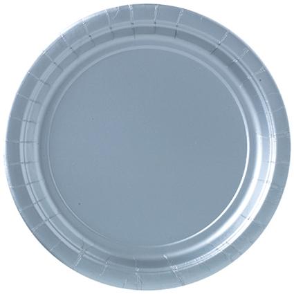 Bordjes zilver 8st