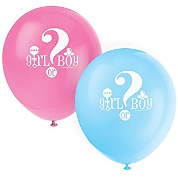 Boy or Girl Ballon 8st