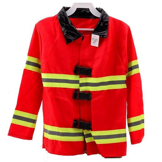 Brandweerjas met reflectie strepen