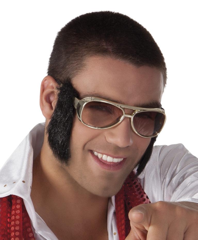 Bril Elvis bakkebaard