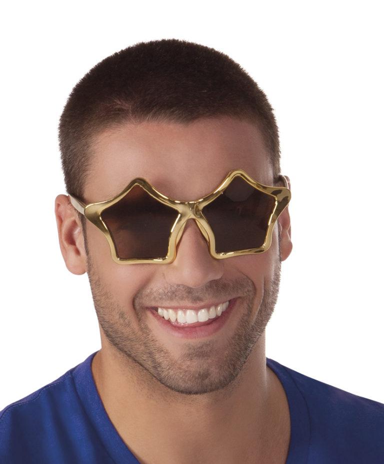 Bril star goud