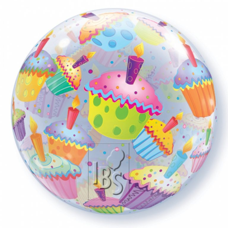 Bubbles ballon cupcake 56cm