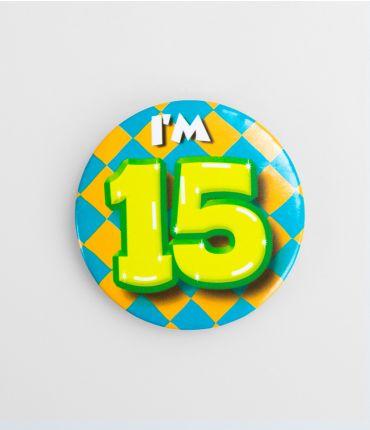 Button 15 jaar