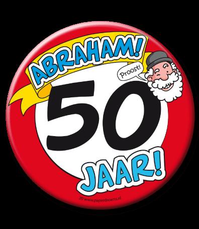 Button 50 XL Abraham