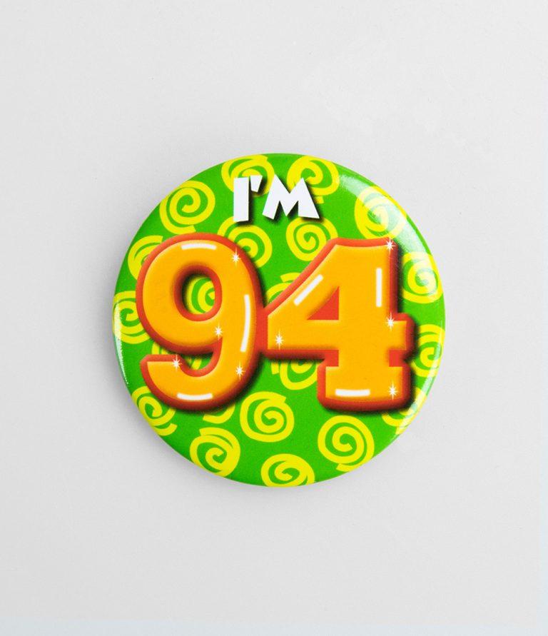 Button 94 jaar