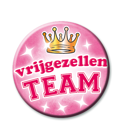 Button vrijgezellen team dames