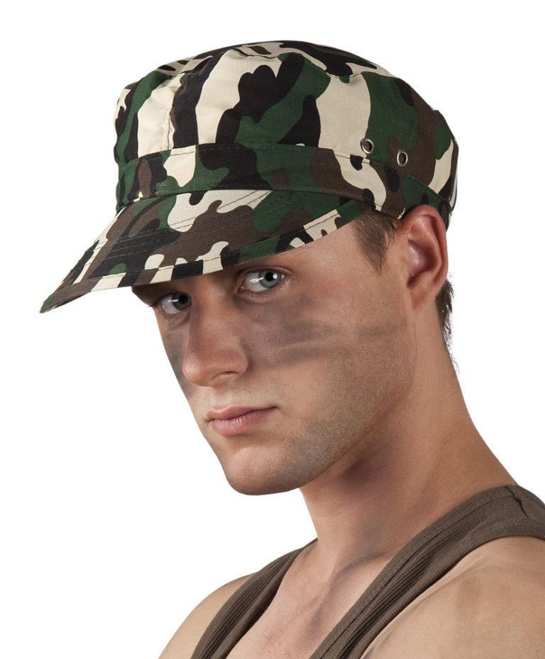 Camouflage pet soldaat