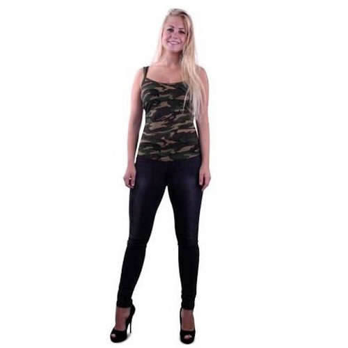 Camouflage top l/xl