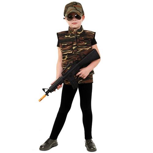 Camouflage vest kind