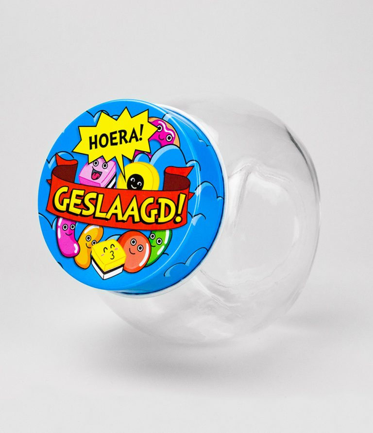 Candy jar geslaagd