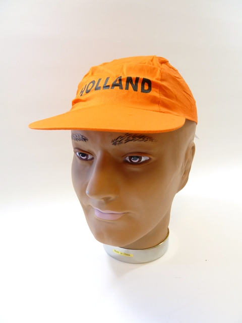 Cap eenv. oranje holland