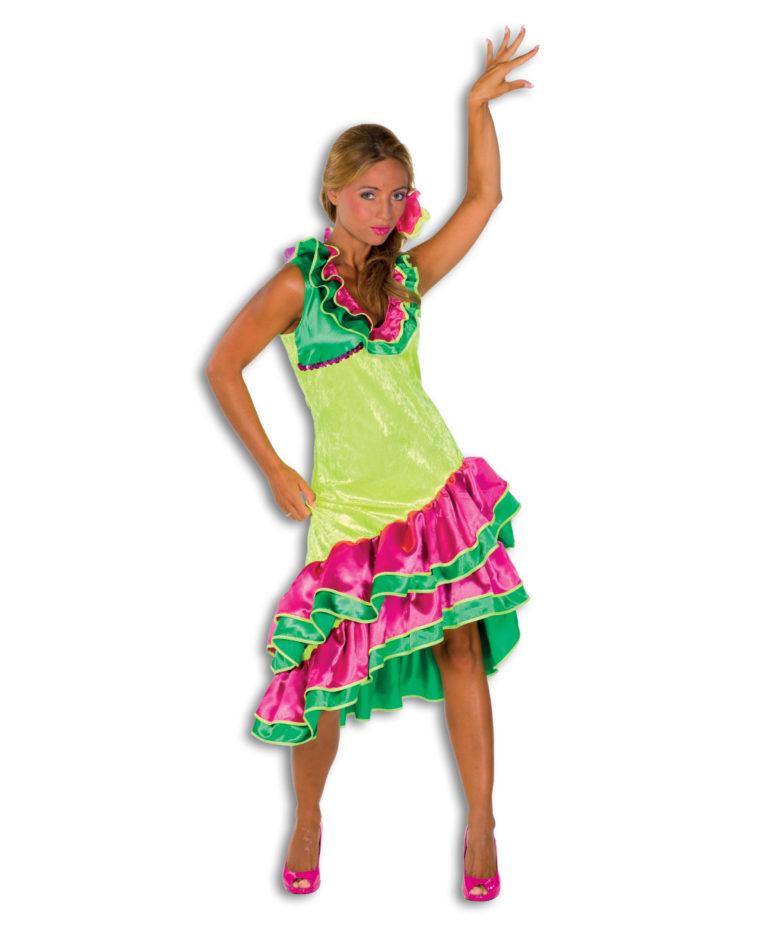 Caribean jurk VERHUUR