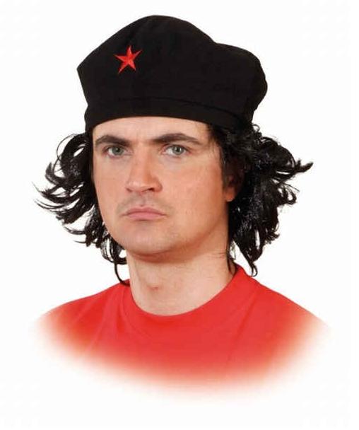 Che Guevara baret met haar