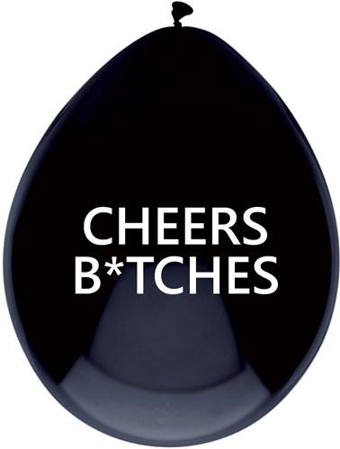 Cheers Bitches ballonnen 5 stuks