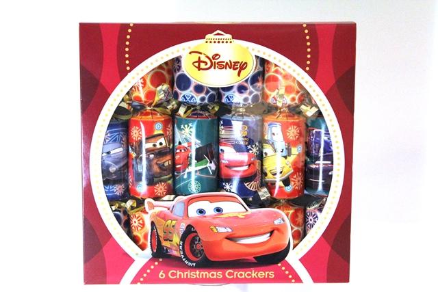 Christmas cracker cars 6 stuks 10inch