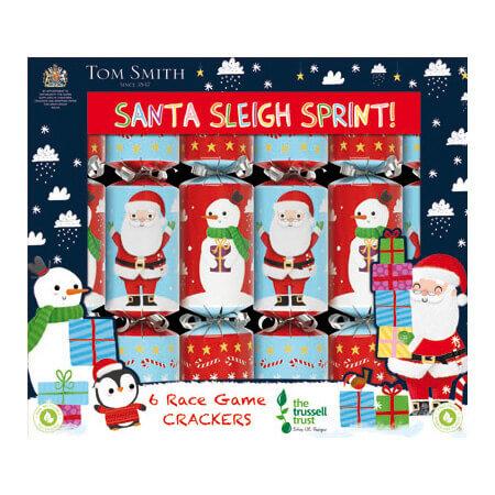 Christmas cracker santa sleigh sprint 6st