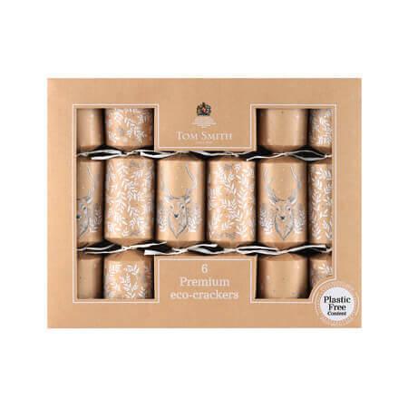 Christmas crackers eco premium winter 14inch 6st