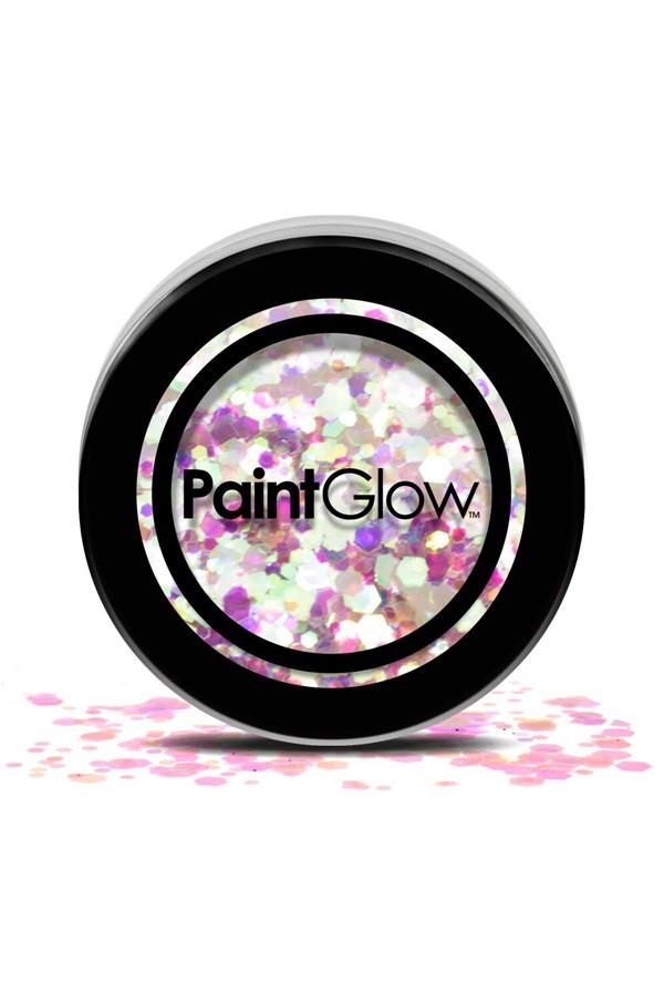 Chunky glitter paint glow unicorn tears