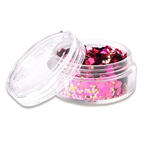 Chunky glitter Pink Lady