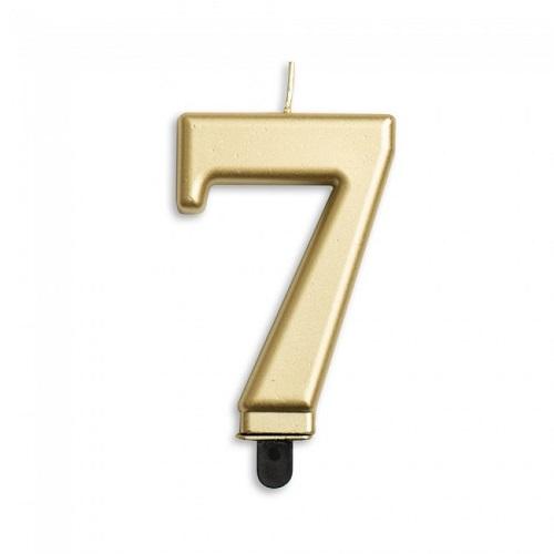 Cijferkaars 7 goud